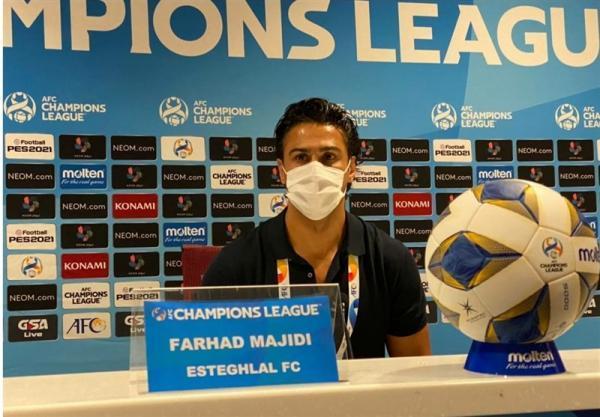 مجیدی: تنها ایرانی هستم که دستم به جام لیگ قهرمانان آسیا خورده است، وریا هم جام را بالای سر می برد