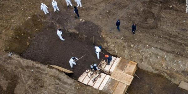 جانز هاپکینز: هزار آمریکایی دیگر ظرف 24 ساعت قربانی کرونا شدند
