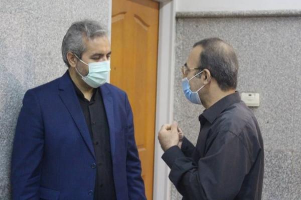 بازدید رئیس کل محاکم استان تهران از مجتمع قضایی شهید مفتح