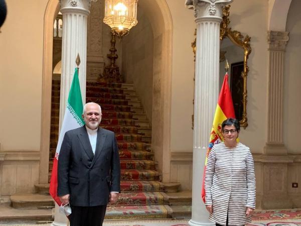 ظریف با وزیر خارجه اسپانیا ملاقات کرد