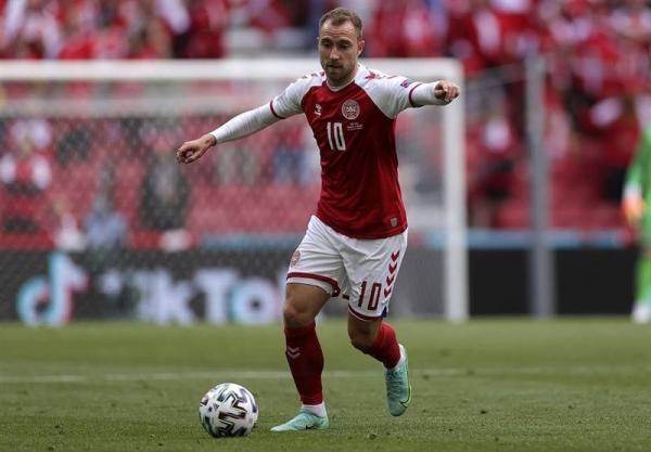 یوفا: دانمارک نمی تواند بازیکنی را جایگزین اریکسن کند