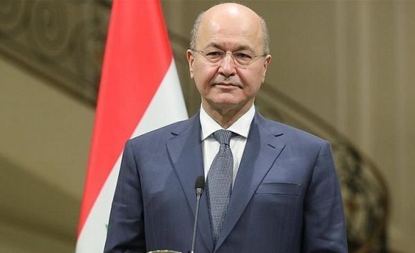 رئیس جمهور عراق به ابراهیم رییسی تبریک گفت
