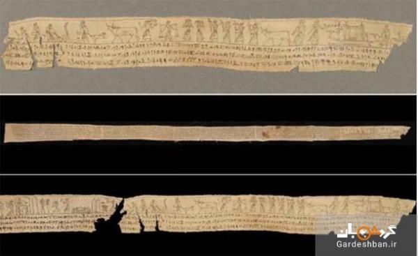 بخش های جداشده کتاب مردگان به هم متصل شدند