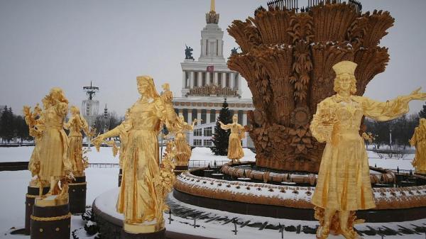 کارت پستال از روسیه؛ درخشش زمستانی مسکو، شهر تزارها