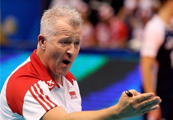 تور اروپا: والیبال قهرمانی اروپا، اظهارات دردسرساز سرمربی تیم ملی لهستان